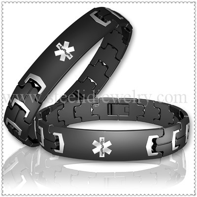 Luxury Anium Medical Id Bracelet For Men Md0336t Necklace