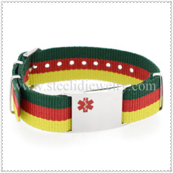 Canvas Medical ID Bracelet